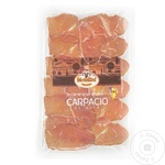 Carpaccio из говядины нарезка 80г