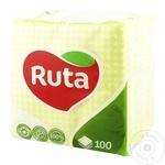 Servetele uscate Ruta 24x24 100buc