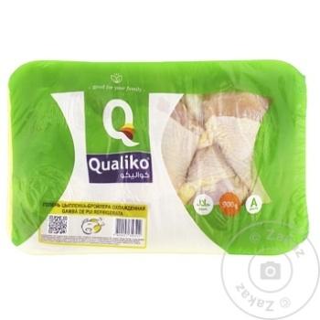 Gamba de pui broiler Qualiko refrigerata 900g - cumpărați, prețuri pentru Metro - foto 1