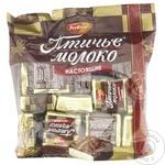 Шоколадные конфеты Птичье Молоко сливки и ваниль 225г