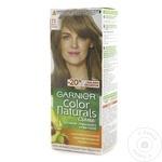 Vopsea de par permanenta cu amoniac Garnier Color Naturals 7.1 Blond Cenusiu