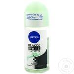Дезодорант шариковый Nivea Black&White 50мл