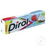 Gumă de mestecat Dirol cocos/căpșună 13,6g