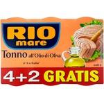 Ton in ulei de masline Rio Mare 4+2 80g