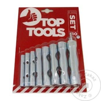 Ключи трубчатые Top Tools 6-22мм набор - купить, цены на Метро - фото 1