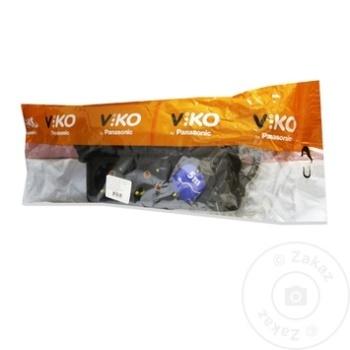 Удлинитель Viko 3 гнезда 5м 16A черный - купить, цены на Метро - фото 1