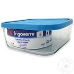 Cтеклянный контейнер с крышкой Bormioli Frigoverre 1,6л