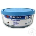 Круглый стеклянный контейнер с крышкой Bormioli Frigoverre 0,3л