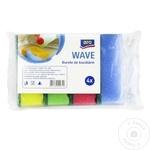Губки кухонные ARO Wave 4шт