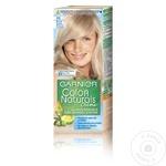 Vopsea de par permanenta cu amoniac Garnier Color Naturals 111 Blond Super Deschis Cenusiu