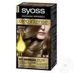Краска для волос Syoss Oleo Intense 6-10 темно-русый