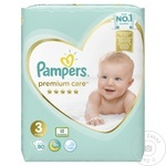 Scutece Pampers Premium Care 6-10kg Nr.3 80buc