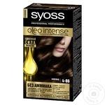 Краска для волос Syoss Oleo Intense 4-86 шоколадный каштановый