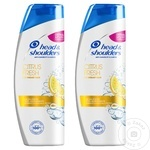 Шампунь Head&Shoulders Citrus 2x400мл