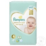 Scutece Pampers Premium Care 9-14kg Nr.4 68buc