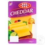 Сыр Chedar Mlekovit нарезанный 150г