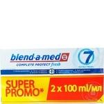 Зубная паста Blend-A-Med Fresh 2x100мл