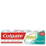 Зубная паста Colgate Total Fresh 100мл