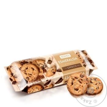 Biscuiti Roshen Esmeralda cu ciocolata 150g - cumpărați, prețuri pentru Metro - foto 1