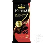Ciocolata Korona extra neagra cu cafea 85g
