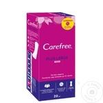 Ежедневные гигиенические прокладки Carefree Large Plus 20шт