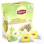 Ceai din plante Lipton Calming Camomile 20 pachețele x 0,7g - cumpărați, prețuri pentru Metro - foto 1