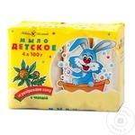 Sapun pentru copii Nevskaia Cosmetica Dentita 4x100g