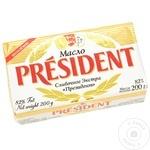 Unt President din smantana dulce 82% 200g