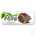 Печенье Nefis Flora с кремом какао 180г