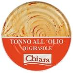 Ton Chiara in ulei de floarea soarelui 523g