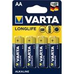 Батарейки VARTA LONGLIFE AA 4шт
