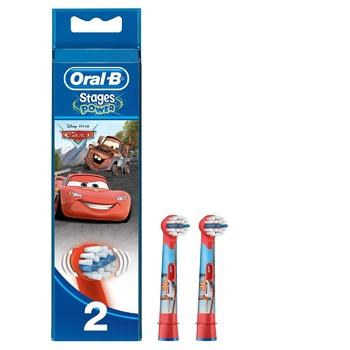 Сменные насадки для электрической зубной щетки Oral-B Kids 2шт - купить, цены на Метро - фото 1