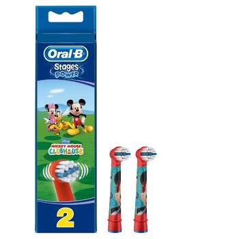Сменные насадки для электрической зубной щетки Oral-B Kids 2шт - купить, цены на Метро - фото 2
