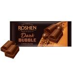 Ciocolata Roshen neagra aerata 80g