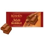 Ciocolata Roshen cu lapte aerata 85g