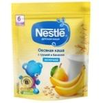 Каша овсяная Nestle груша/банан 220г