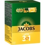 Cafea solubila Jacobs 3in1 latte 24x12,3g