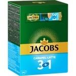 Кофе растворимый Jacobs 3в1 карамель 24x12,3г