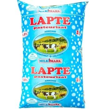 Молоко Milk-Mark 1,5% 1л - купить, цены на Метро - фото 1