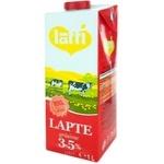 Молоко UHT Latti 3,5% 1л