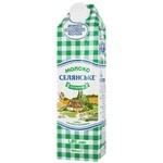Молоко Селянское 1,5% 0,95л
