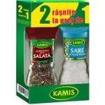 Специй для салата Kamis в мельнице 38г + Соль в подарок
