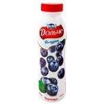 Йогурт питьевой Дольче с черникой 2,5% 290г