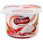 Йогурт Дольче с клубникой 115г