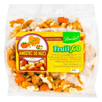 Ореховый микс Fruit2go 200г - купить, цены на Метро - фото 1