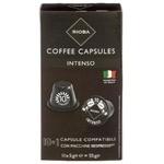 Cafea in capse Rioba Nespresso Intenso 10x5g