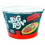 Лапша со вкусом говядины BigBon 85г