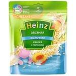Каша овсяная Heinz молоко/персик 200г