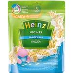 Каша овсяная молоко/персик Heinz 200г