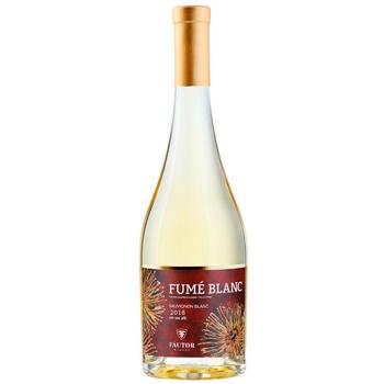 Вино Fautor Fume Sauvignon Blanc белое сухое 0,75л - купить, цены на Метро - фото 1